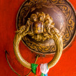 Door in Buddhist temple — Stock Photo #37573803