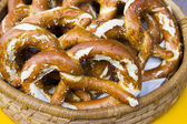 Brezel in trentino — Stock Photo