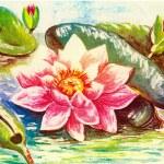 Floral postcard — Stock Photo #38046577