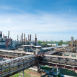 A refinery photos in a sunny day — Stock Photo