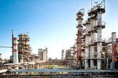 Petroleum refinery — Stock Photo