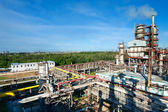 Oil refining factory — Stock Photo