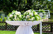 Beautiful decor for wedding — Стоковое фото