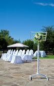 Decor for a wedding — Stock Photo