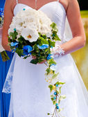 Beautiful wedding bouquet — Photo