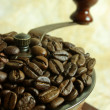Stock Photo: Vintage coffee grinder