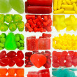 Candies assortment — Stock Photo