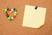 Corkboard — Stock Photo