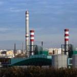 Csepel Power Station in Budapest, Hungary — Stock Photo