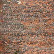 Old rugged brick wall — Stock Photo #28589109