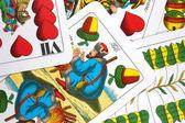 Macar oyun kartları — Stok fotoğraf