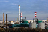 Csepel Power Station in Budapest, Hungary — Stock Photo