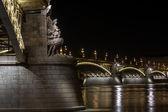 Margaret Bridge, Budapest — Stock Photo