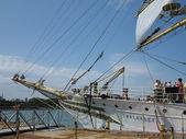 Norway Sorlandet Ship at Chicago's Navy Pier — Stock Photo