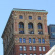 Stock Photo: Broadway Chambers Building In New York City Showing Detailed Art Deco Architecture