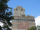 Whitehall Building viewed from Battery Park in New York — Stock Photo