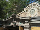 Architectural Details of the Historic Bowling Green Subway Station In New York — Stock Photo