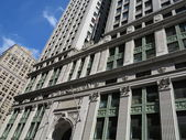 Equitable Building Entrance in New York Showing Intricate Architecture — Stock Photo