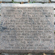 Стоковое фото: NorwegiEthnic World War II Monument to sailors who served which is found at Battery Park in New York