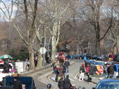 Busy Weekend Day in Central Park New York — Stock fotografie