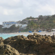 Stock fotografie: Westin Resort Arewith waves of caribbeat Dawn Beach, St. Martin
