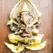 Ganesh wooden — Stock Photo #39144731