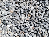 Rock pieces crushed gravel texture — Stock Photo
