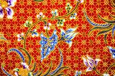 Sfondo di modello pareo batik in thailandia, batik tradizionali — Foto Stock