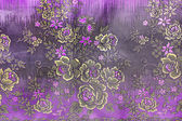 Popular batik sarong pattern background in Thailand, traditional — Stock Photo