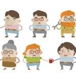 Origilan cartoon characters — Stock Vector #28525671
