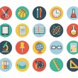School icons — Stock Vector #29018935
