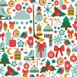 Winter colorful icons — Stockvector  #35713145