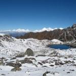 View From The Laurebina Mountain Pass, Nepal — Stock Photo #28609251