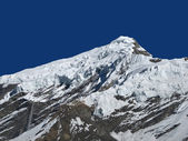 High Mountain In The Himalayas, Avalanche — Stock Photo