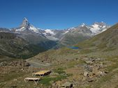 Quiet Time In Zermatt — Stock Photo