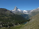 Idyllic Landscape In Zermatt — Stock Photo
