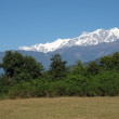 Snow Capped Annapurna Range — Stock Photo