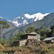 Farm in the Annapurna Conservation Area, Himalayas, Nepal — Stock Photo