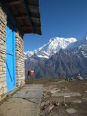 Annapurna South and Mardi Himal High Camp — Stok fotoğraf