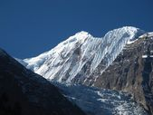 Ganggapurna, High Mountain Of The Annapurna Range — Stock Photo