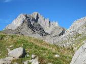 Горы в кантоне Гларус — Стоковое фото