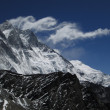 Lee waves over Lhotse — Stok fotoğraf