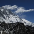 Lee waves over Lhotse — Stock Photo