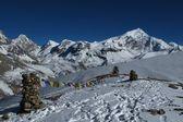 Krásné scenérie v himalájích — Stock fotografie