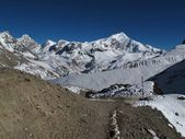 Footpath of the Annapurna Round — Stock Photo