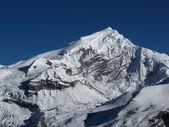 Peak of Chulu West — Zdjęcie stockowe