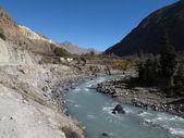 Kali Ghandaki River, scenery near Tukuche — Foto de Stock