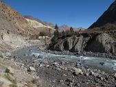 Río kali ghandaki — Foto de Stock