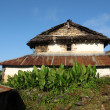 Stock Photo: Traditional old house in Ghalegaon