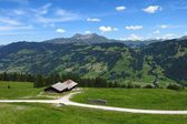 Scenery near Gstaad, Bernese Oberland — Stock Photo